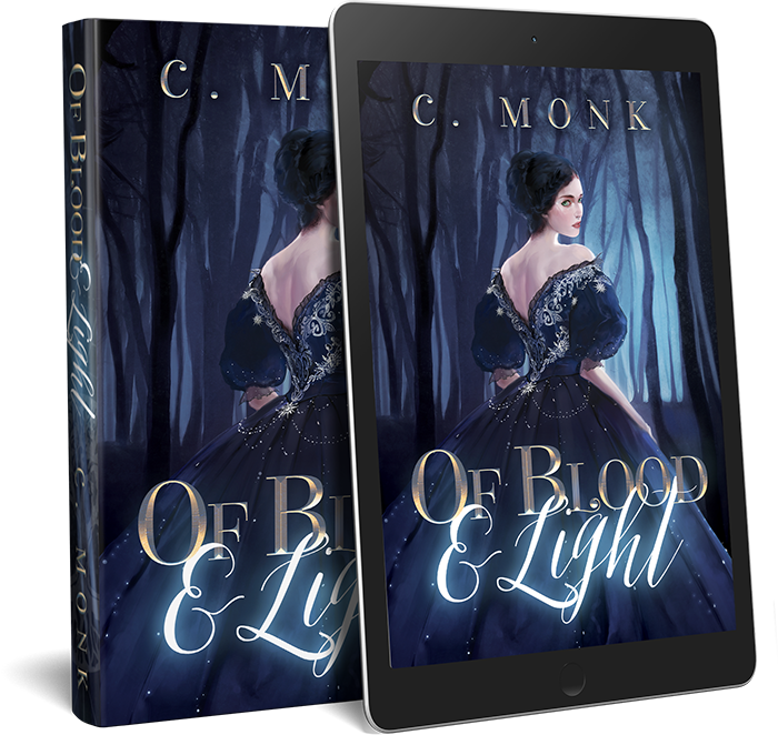 Of Blood And Light, a novel by C. Monk
